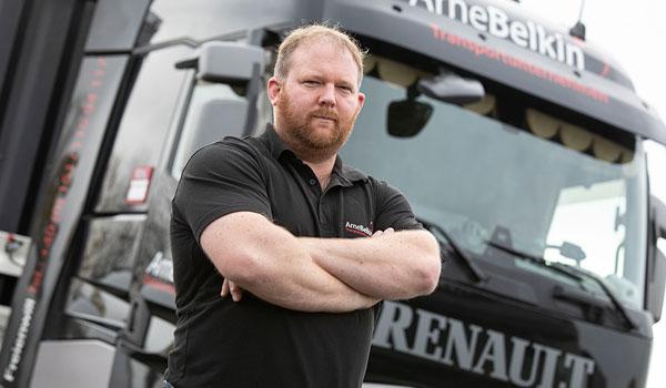 Auch Arne Belkin ist Stammgast bei der zertifizierten Fachwerkstatt in Grossenwiehe